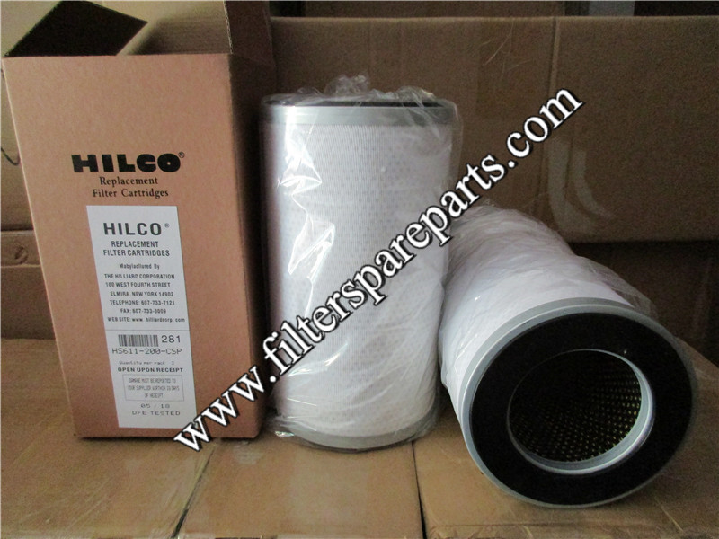 HS611-200-CSP HILCO Filter cartridge factory cost